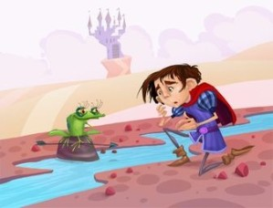 """Fuente: """"La rana que fue princesa"""""""