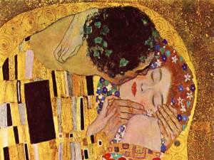 """""""El beso"""" de Klimt"""